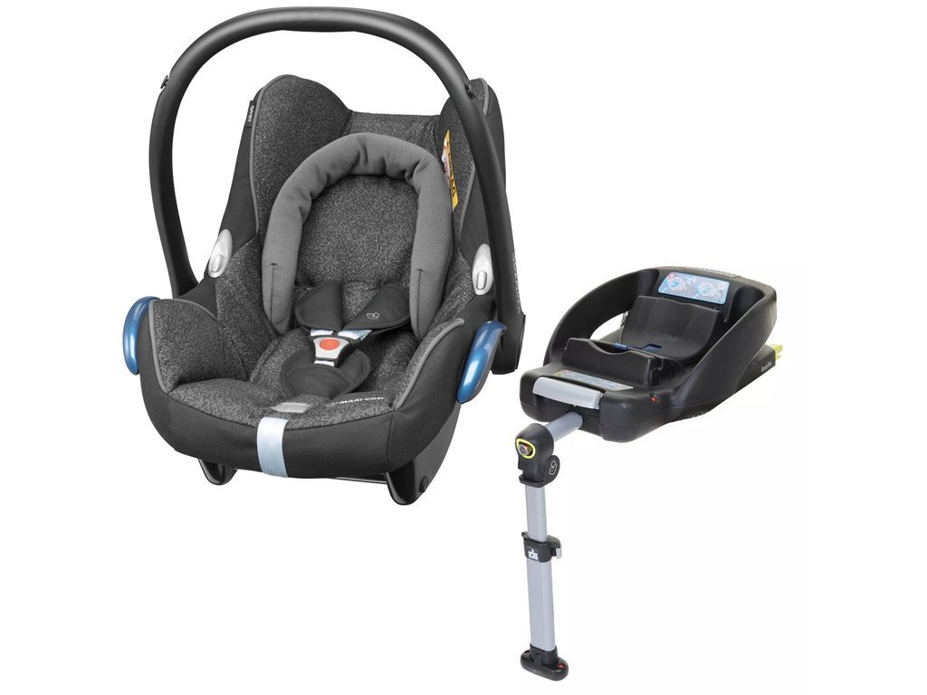 Maxi Cosi Cabriofix And Isofix Base In Triangle Black Baby Car Seats Red Orchids Maxi Cosi