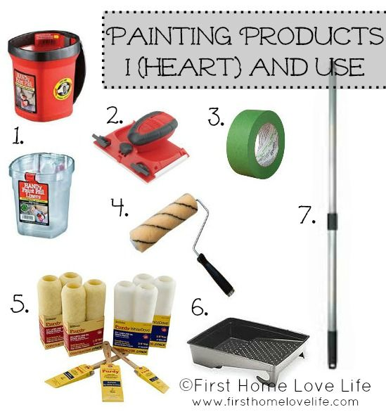 Painting 101: Products and Prep Work | Blog, Paintings and House