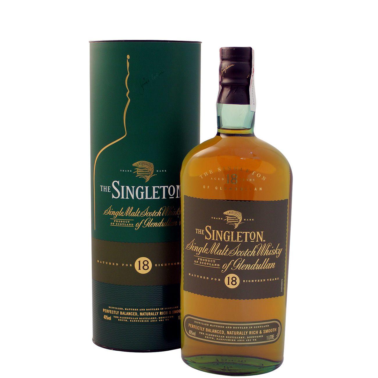 8184d7556e Whisky The Singleton of Glendullan 18 Years 1 L 40% Vol.