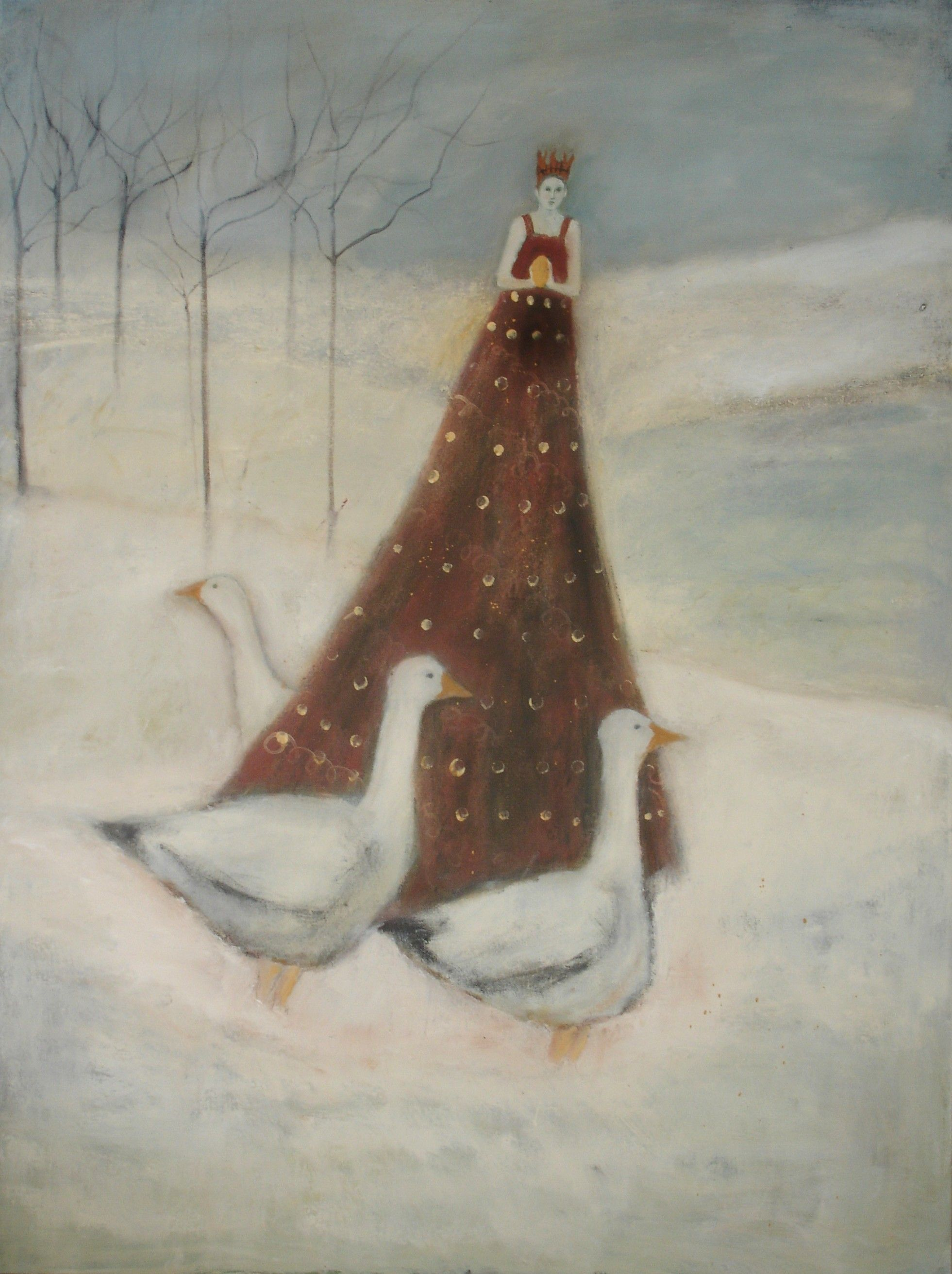 Jeanie Tomanek, Honorguard, oil on canvas