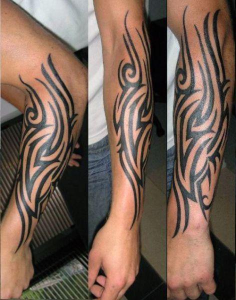 Tatuaże Męskie Tribal Na Ręce Tattoos Tatuaże Na Rękach