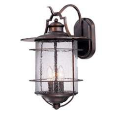 "Franklin Iron Works Casa Mirada 19 1/2"" High Outdoor Light-boathouse lantern look for outside beams"
