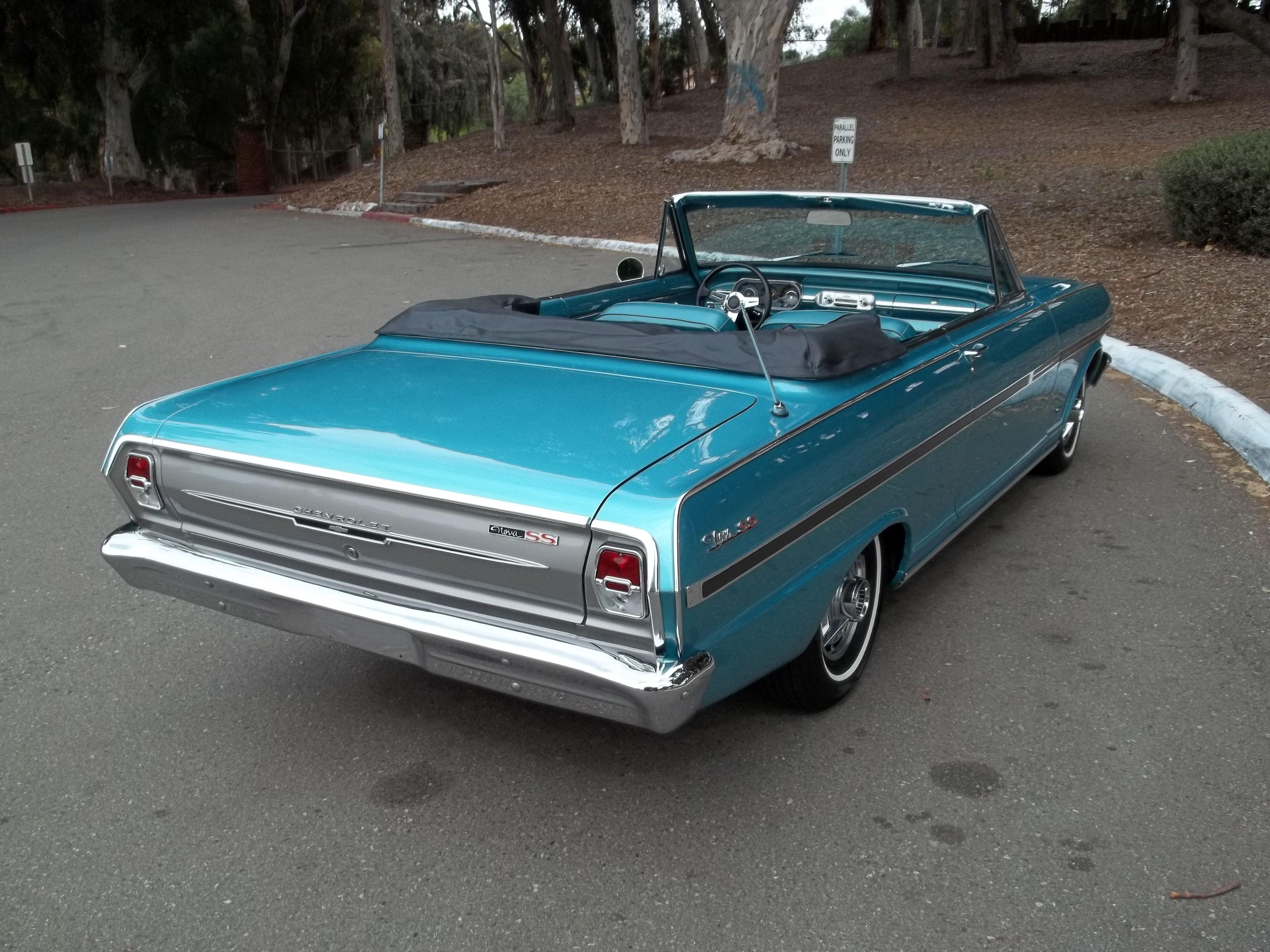 1964 chevy nova convertible Chevrolet nova Pinterest