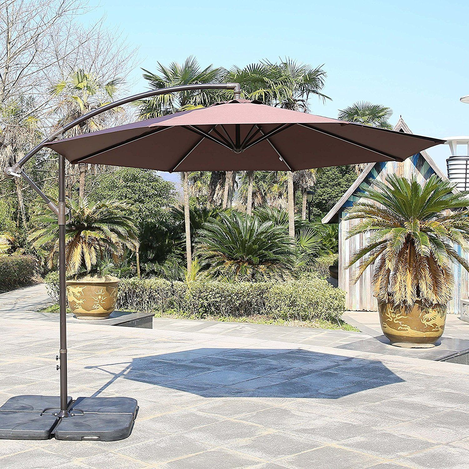 9 top 10 best offset patio umbrellas in 2017 top 10 best offset