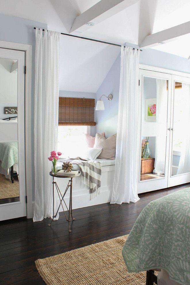 Phenomenal Window Seat Draperies To Add Privacy And Coziness Bralicious Painted Fabric Chair Ideas Braliciousco
