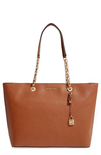 be34bfb06a71 Free shipping and returns on MICHAEL Michael Kors Medium Mercer Leather Tote  at Nordstrom.com