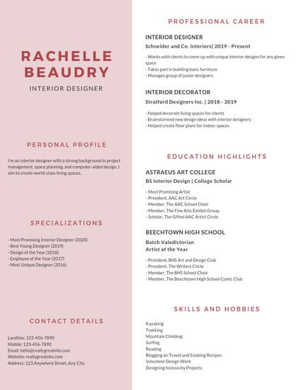 Customize 1,305+ Resume templates online Canva (With