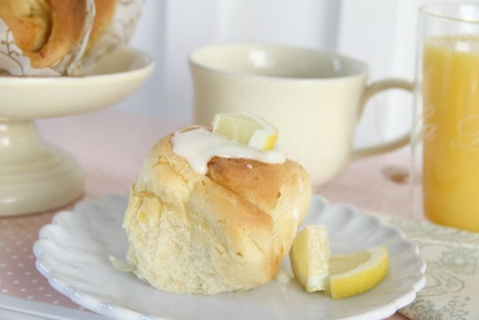sweet lemon rolls