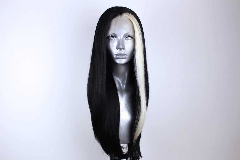 Zara Platinum Streaked Black Blonde Streaks Pure Products Platinum Blonde