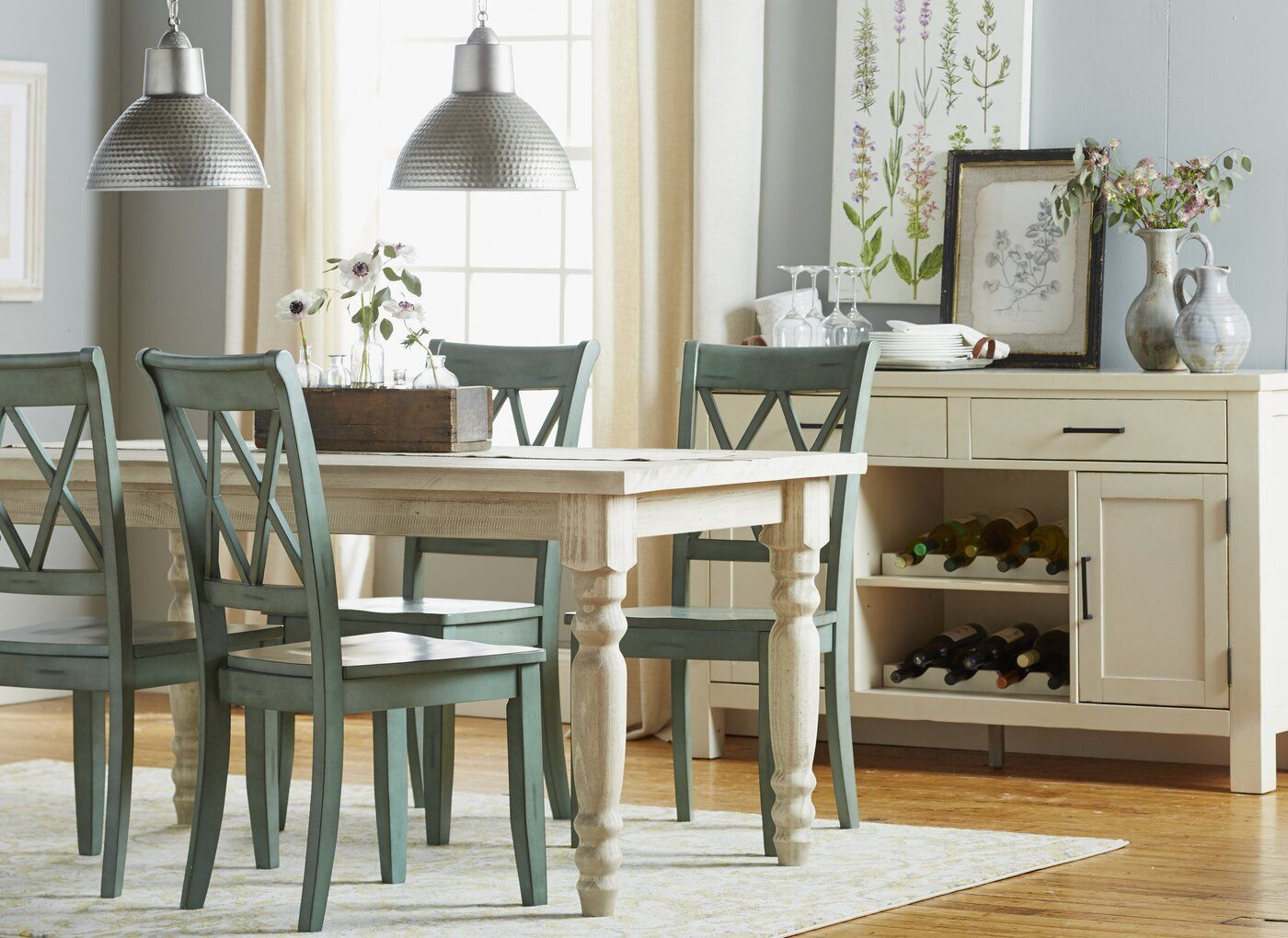 Valerie Pine Solid Wood Dining Table Wood Dining Table Farmhouse Dining Room Country Dining Rooms