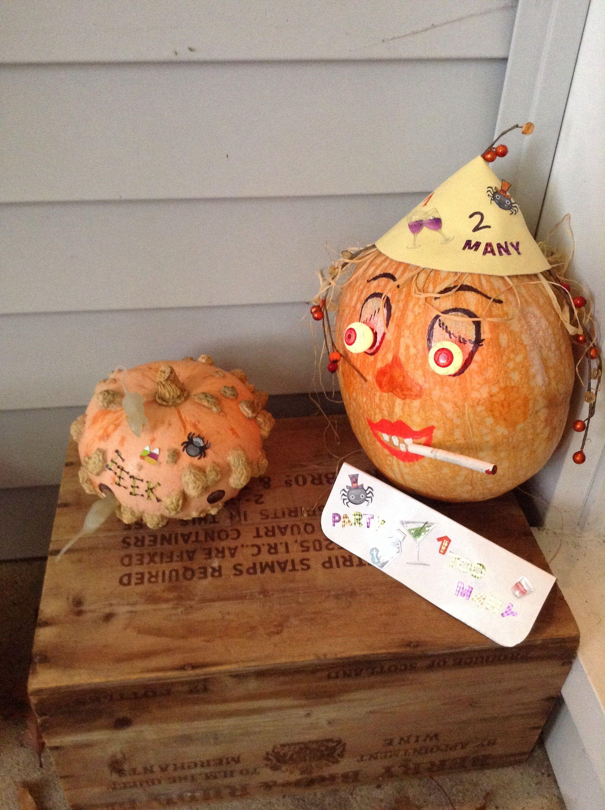 Creative pumpkins!