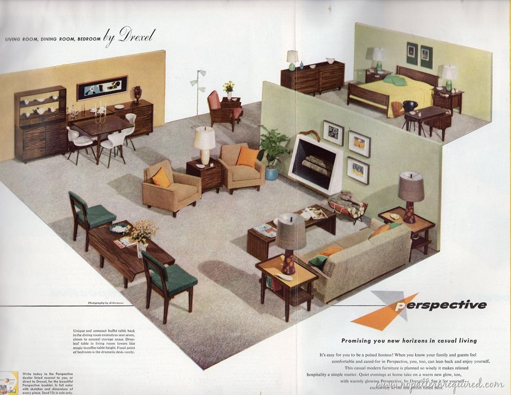 drexel bedroom set%0A By RetroRuth Oh man  I loooove me some Drexel furniture  Recently I bought  a bunch of vintage House  u     Garden magazines  which included some  tremendously