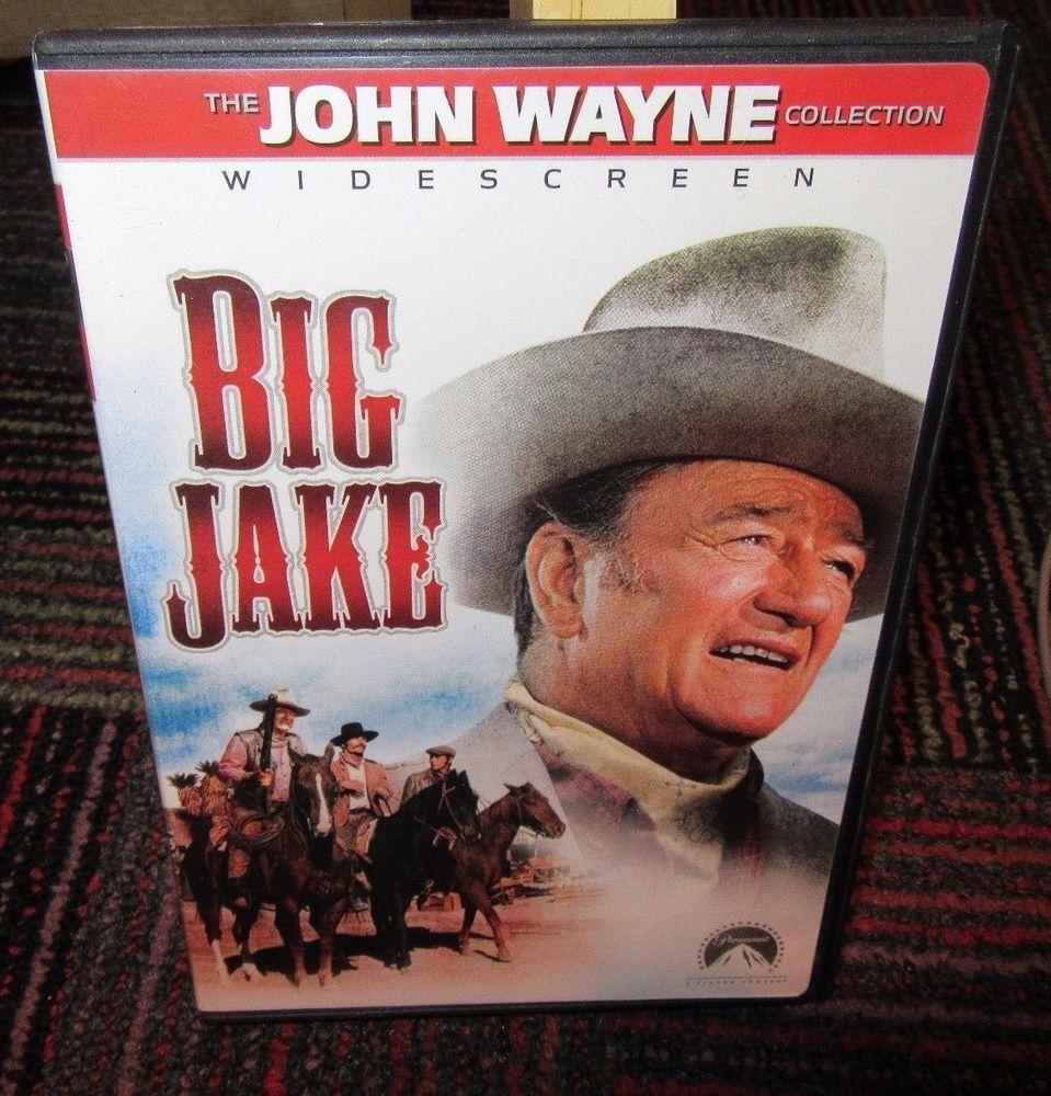 BIG JAKE DVD MOVIE, WIDESCREEN, FROM THE JOHN WAYNE
