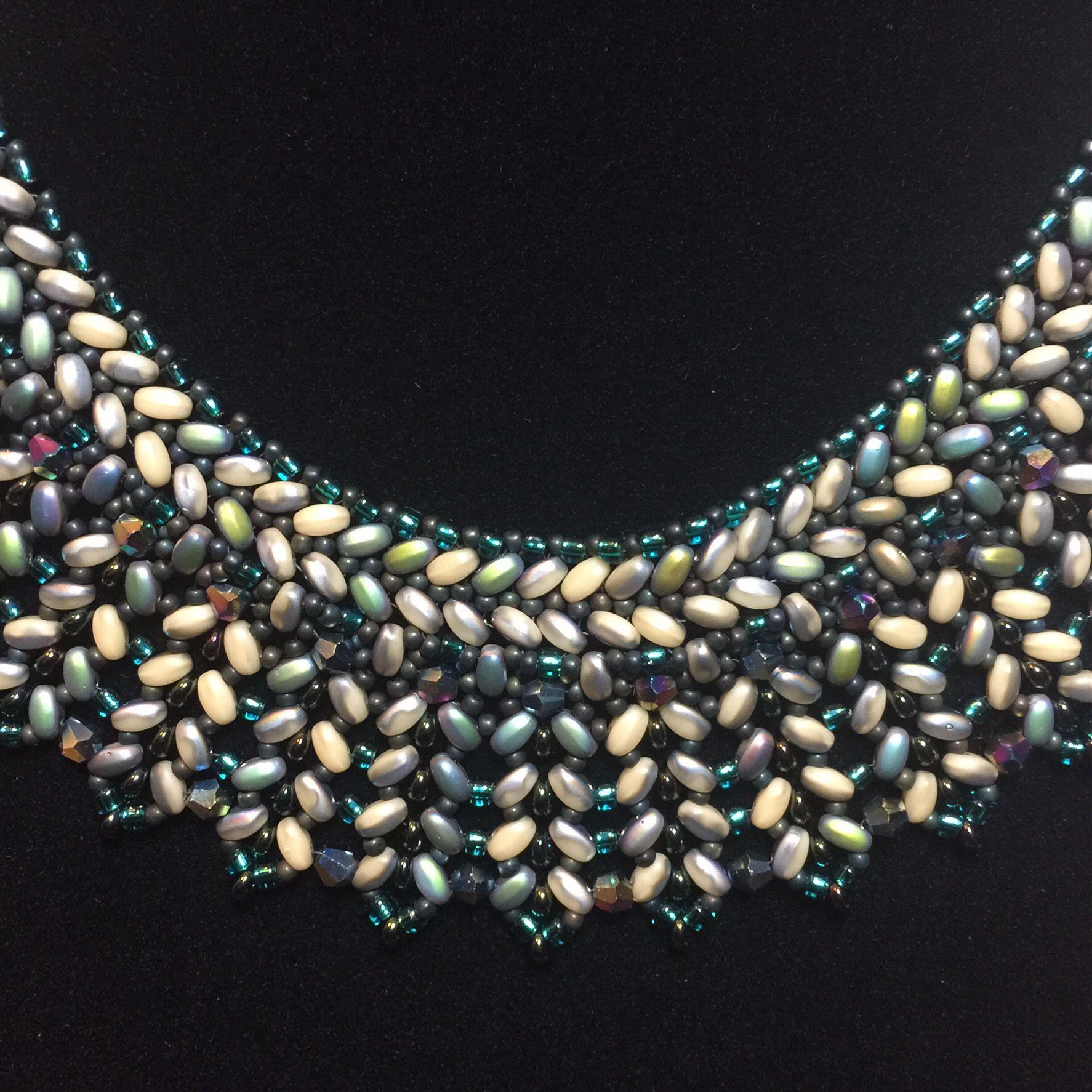 Jenus collar close up proyectos que intentar pinterest bead