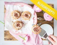 Yummy Bakerin banaani-suklaaleivokset Blogiringin kampanjasta. www.vuohelanherkku.fi/reseptit/banaani-suklaaleivokset #gluteeniton #vuohelanherkku #resepti