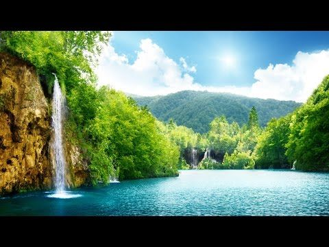 One Hour Relaxing Background Music Piano Flute Meditation Yoga Waterfall Wallpaper Scenery Wallpaper Nature Wallpaper