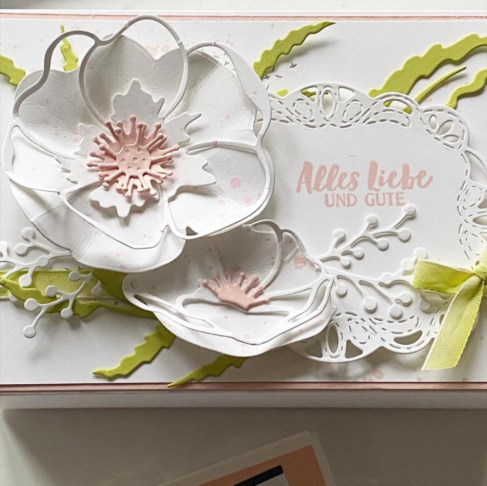 Rund Um Mohnblumen In 2020 Kartenideen Geburtstagskarten Diy Blumenkarten