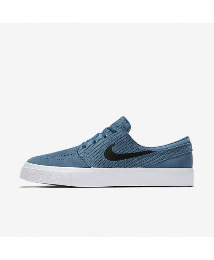 Nike SB Zoom Stefan Janoski Premium High Tape Industrial Blue Black  854321-401