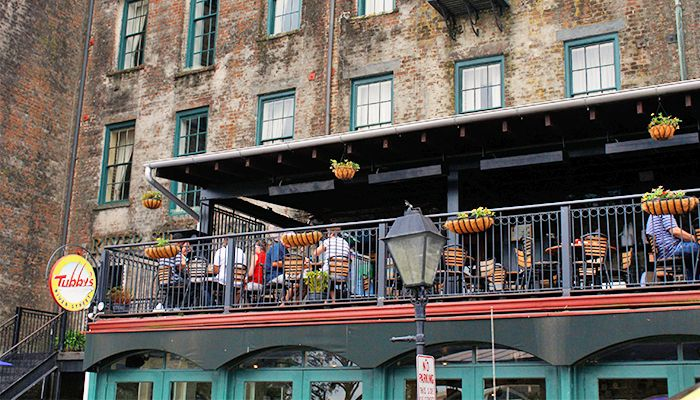 Tubby S River Street Savannah Think This Is Our Very Favorite Place To Eat In Savannah Good Food And Grea Savannah Chat Savannah Georgia River Street Street