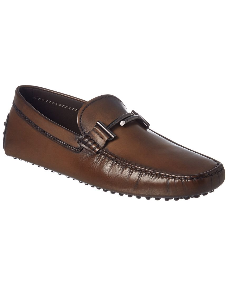 7fdfbbd585 TOD'S TOD'S DOUBLE T GOMMINO LEATHER DRIVING SHOE. #tods #shoes ...