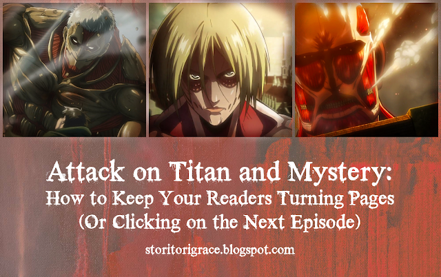 Attack on Titan and Mystery: How to Keep Your Readers Turning Pages (Or Clicking on the Next ...