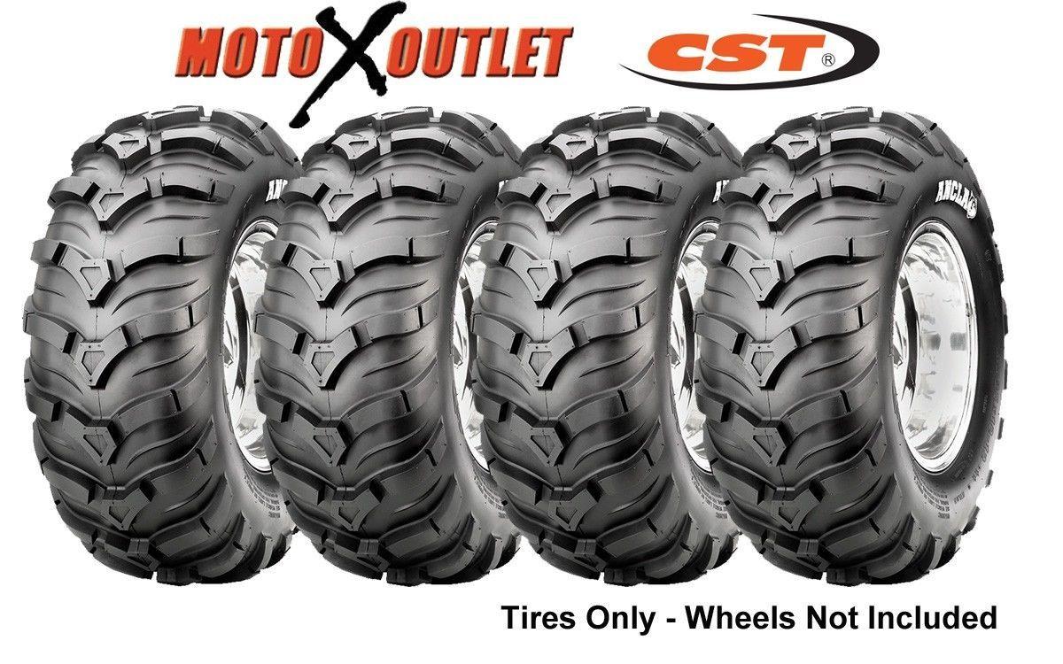 25 Atv Tires 25x8 12 25x10 12 Set Of 4 Cst Ancla 2 Front And Rear Ebay Atv Atv Parts Four Wheeler Accessories