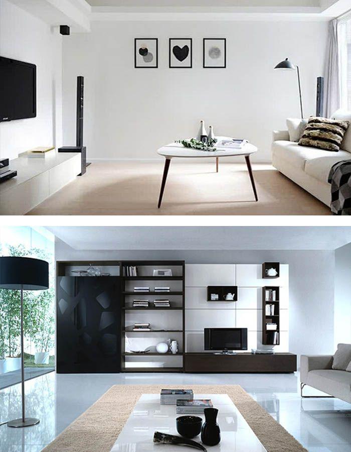 Wohnzimmer Minimalistisch Einrichten, Doch Mit Eigenem Charakter |  Minimalistischer Raum, Wohnzimmer Ideen Und Wohnzimmer