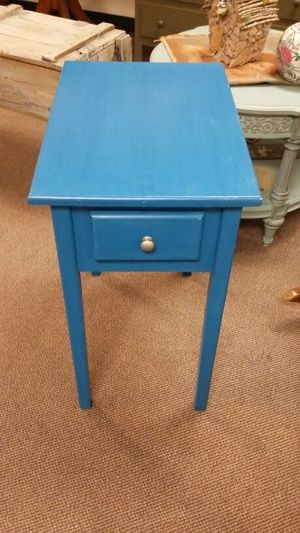 Blue end table for Sale in Clermont, FL   End tables for ...