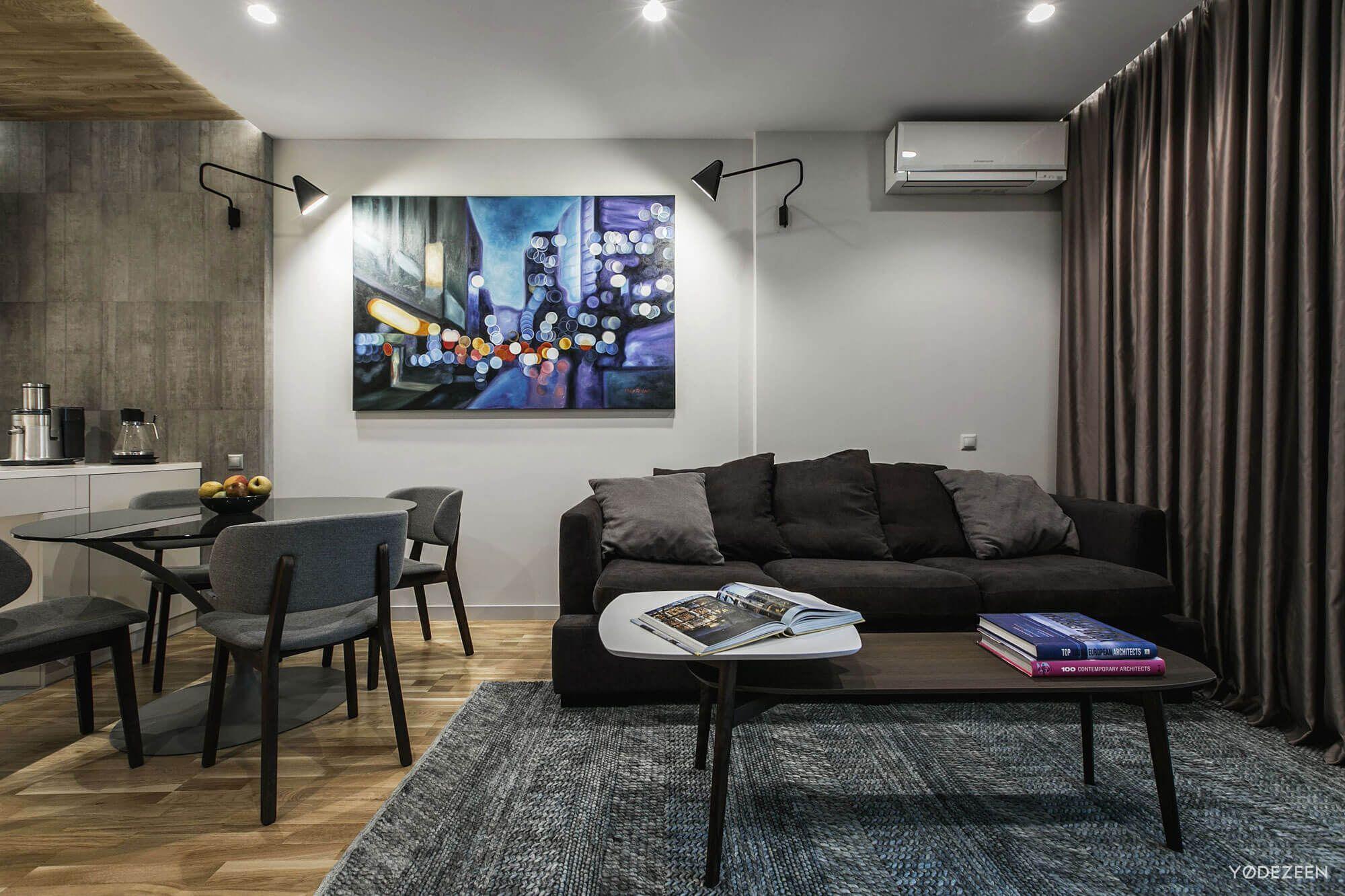 Modern apartment in Kiev by YoDezeen 01