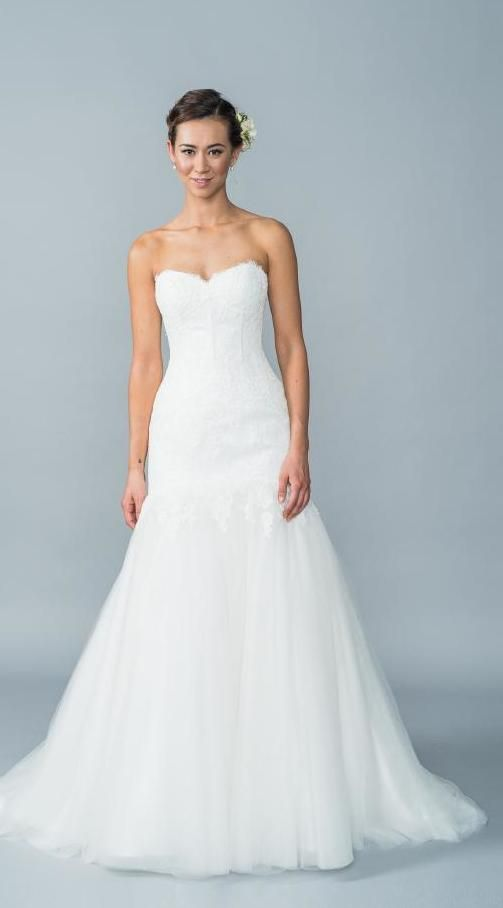 Your Dream Bridal // Lis Simon - Corded Lace / Tulle Strapless ...