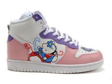 hello kitty nike high dunks