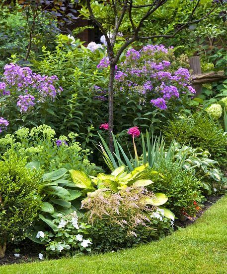 Staudenbeete im fr hjahr auf die saison vorbereiten for Gartengestaltung schatten