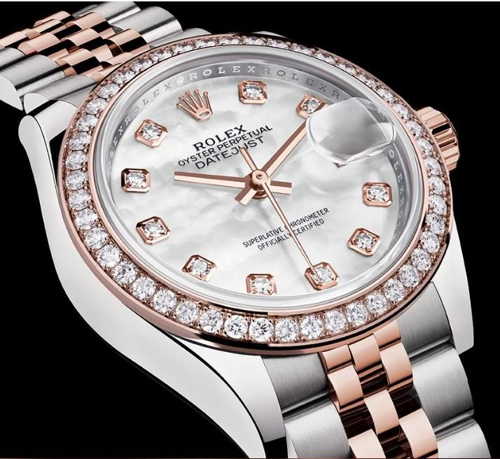 Rolex Lady-Datejust 28 mm #Baselworld2016