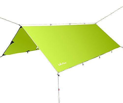 theBlueStone 10x12FT C&ing Tent Tarps Sunshade Shelter Beach Shelter Waterproof Sunshade Tent Rain Fly Tent Tarp  sc 1 st  Pinterest & theBlueStone 10x12FT Camping Tent Tarps Sunshade Shelter Beach ...
