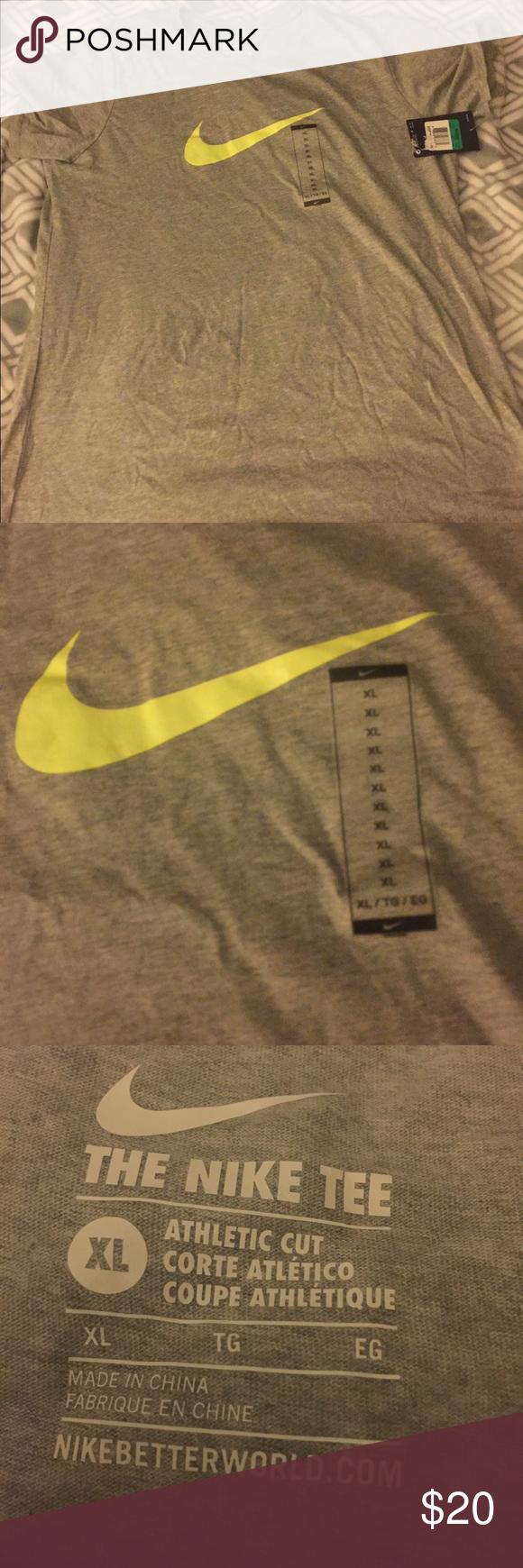 Nike t shirt Nike athletic t shirt. Athletic cut womens xl Nike Tops Tees - Short Sleeve