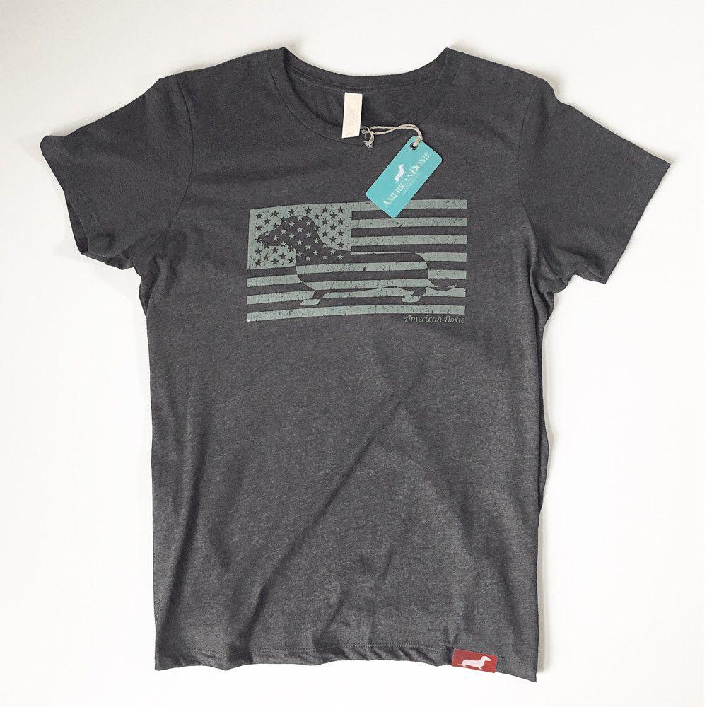 American Doxie Flag Tee Shirt $28.00