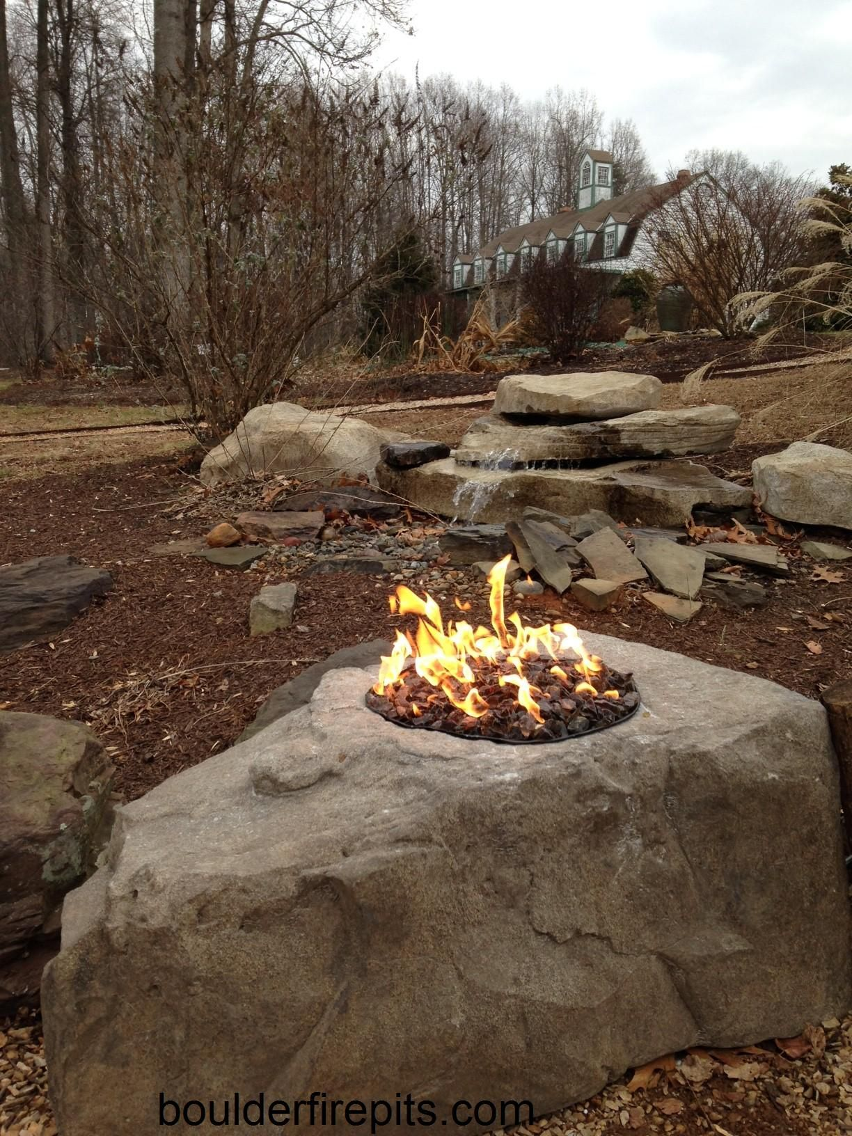 Boulder Fire Pit. For more info including videos and ...