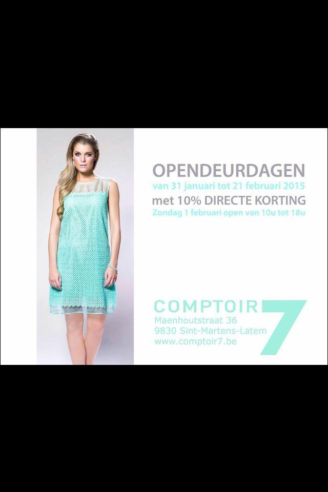 #opendeurdagen #korting #latem #gent #tara_jarmon #fashion #zomercollectie #summer2015 #green #ellenpetri