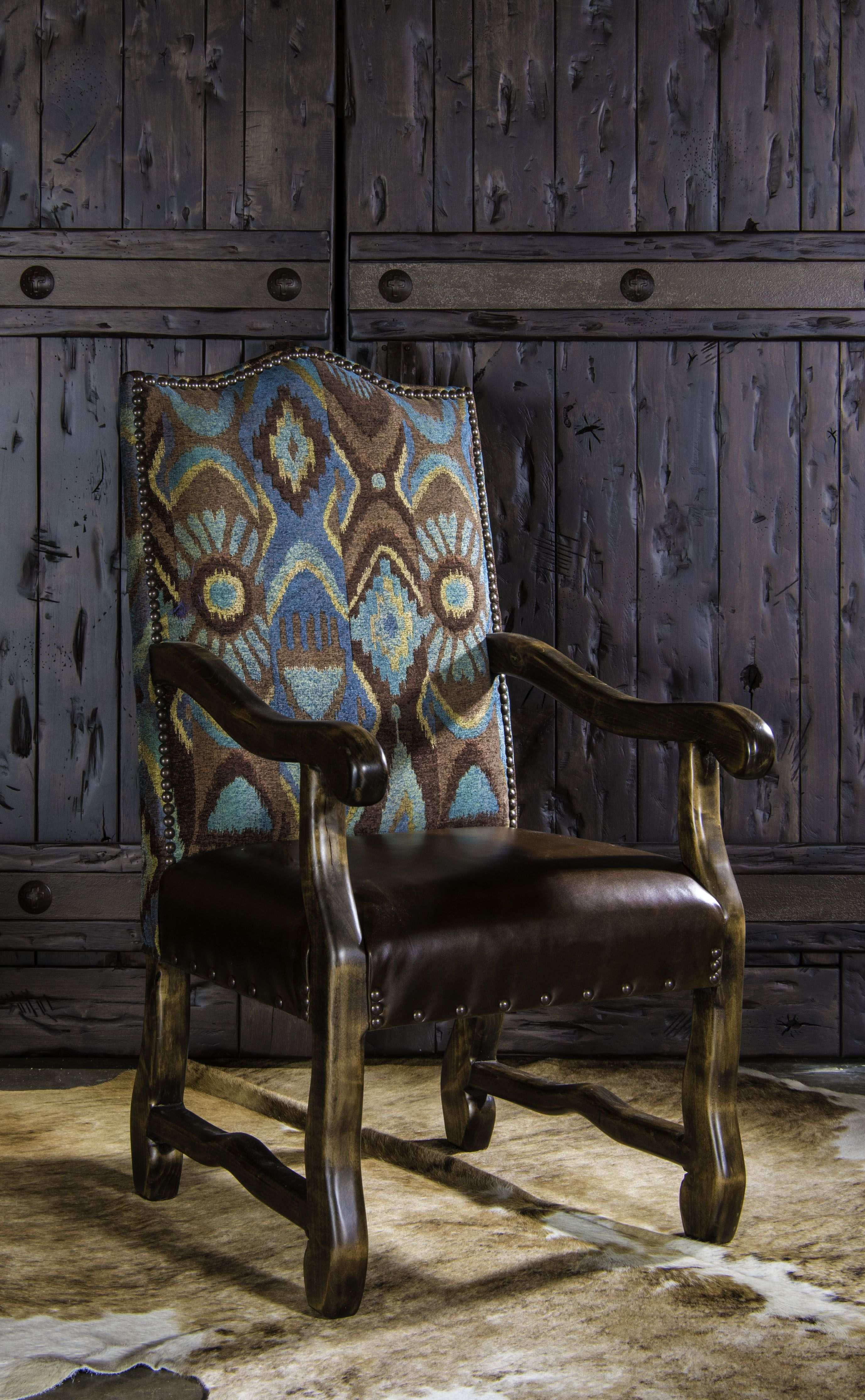 Santa Fe Arm Dining Chair For More Information Call Text Adobe Interiors At 817