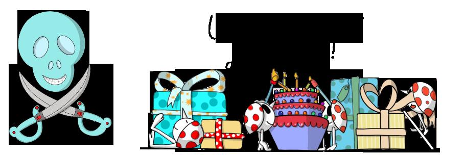 Retrouve tout ce qu'il faut pour créer un anniversaire original pour garçon !