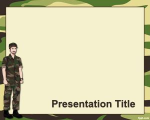 This free military school powerpoint template contains a green style this free military school powerpoint template contains a green style with army background theme and enough toneelgroepblik Gallery