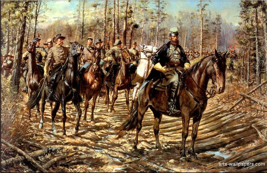 Image result for PHOTOS OF PAINTINGS OF THE CIVIL WAR