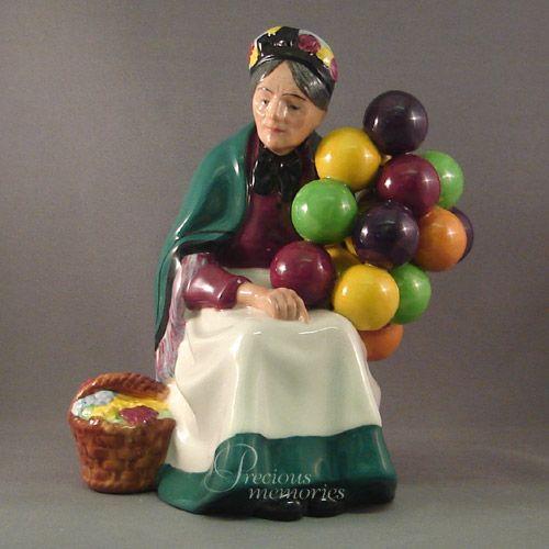 Dating royal doulton balloon seller