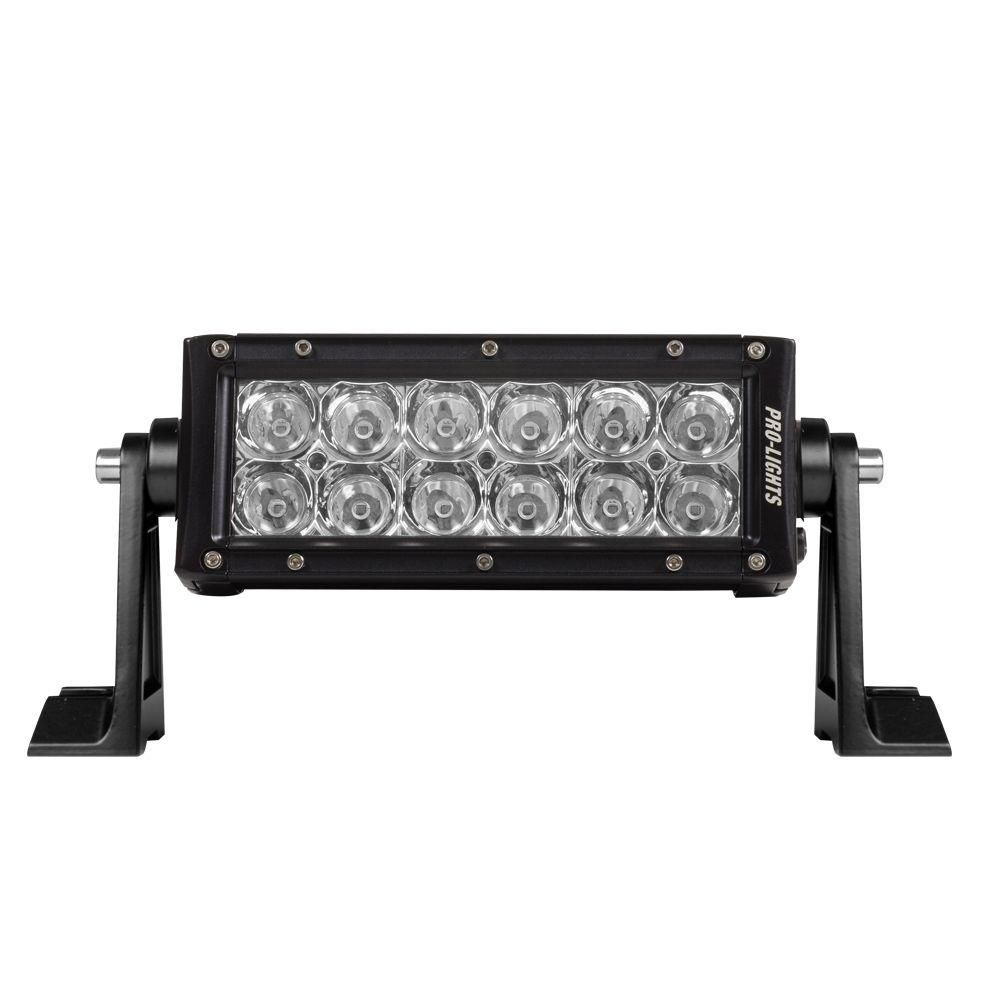 6 in waterproof led light bar with osram bright white technology waterproof led light bar with osram bright white technology and enhanced optics mozeypictures Choice Image