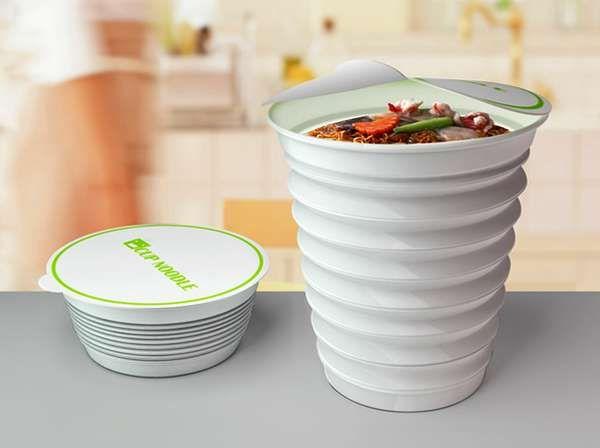 Space-Saving Food Packaging | Packaging design, Innovative ...