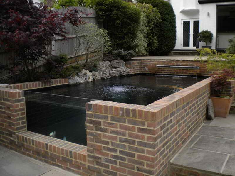 Planning & Ideas:Koi Pond Construction Ideas Koi Pond Construction ...
