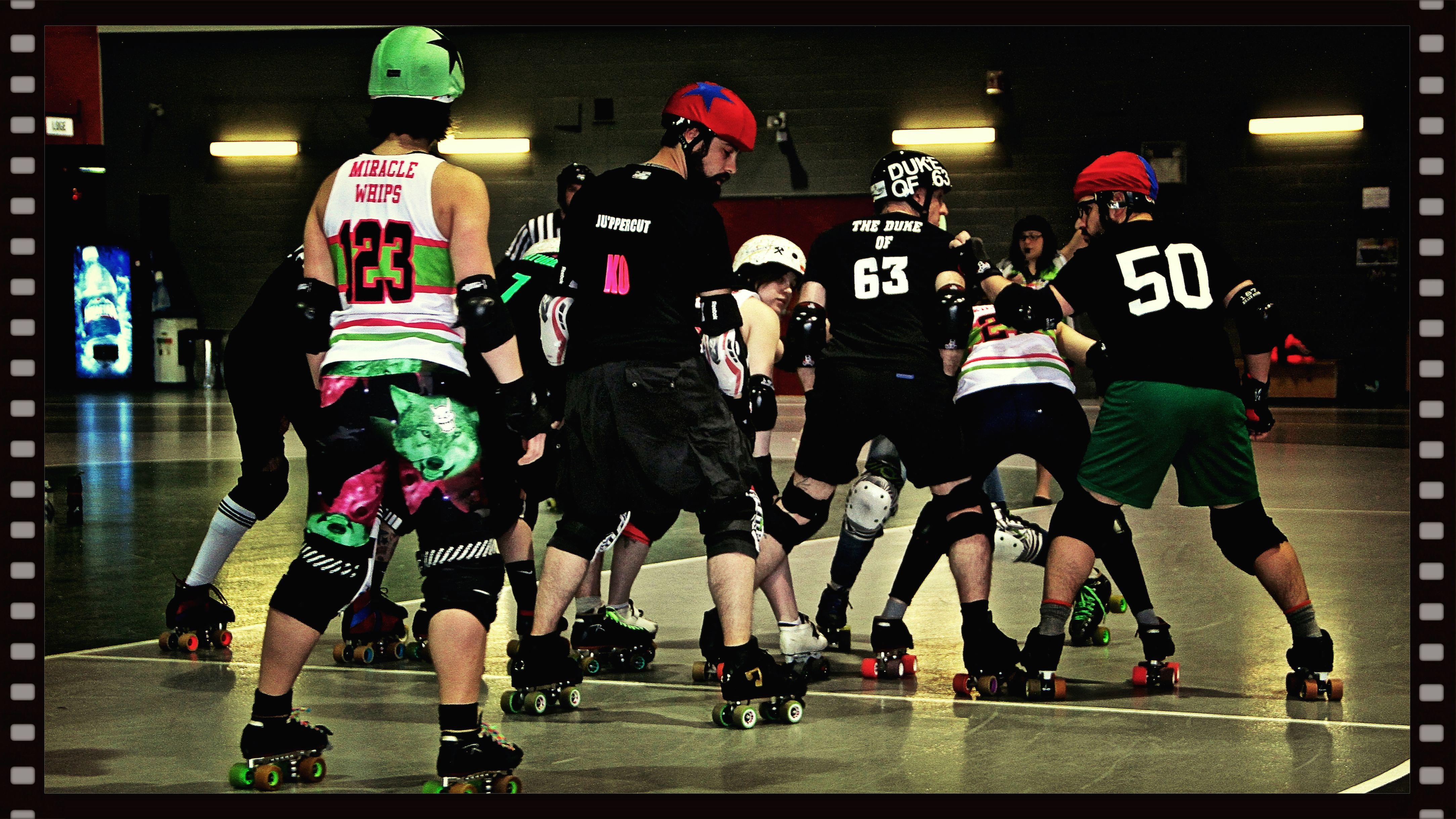 Roller skating montreal - 5 Second Roller Derby Men S Montr Al
