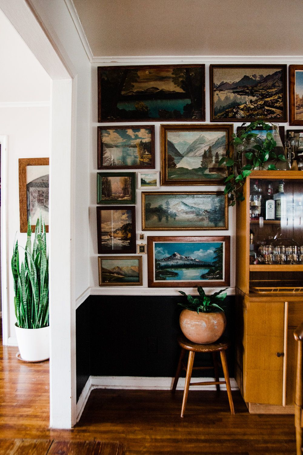 How To Create A Vintage Landscape Gallery Wall With Images House Interior Interior Home Decor