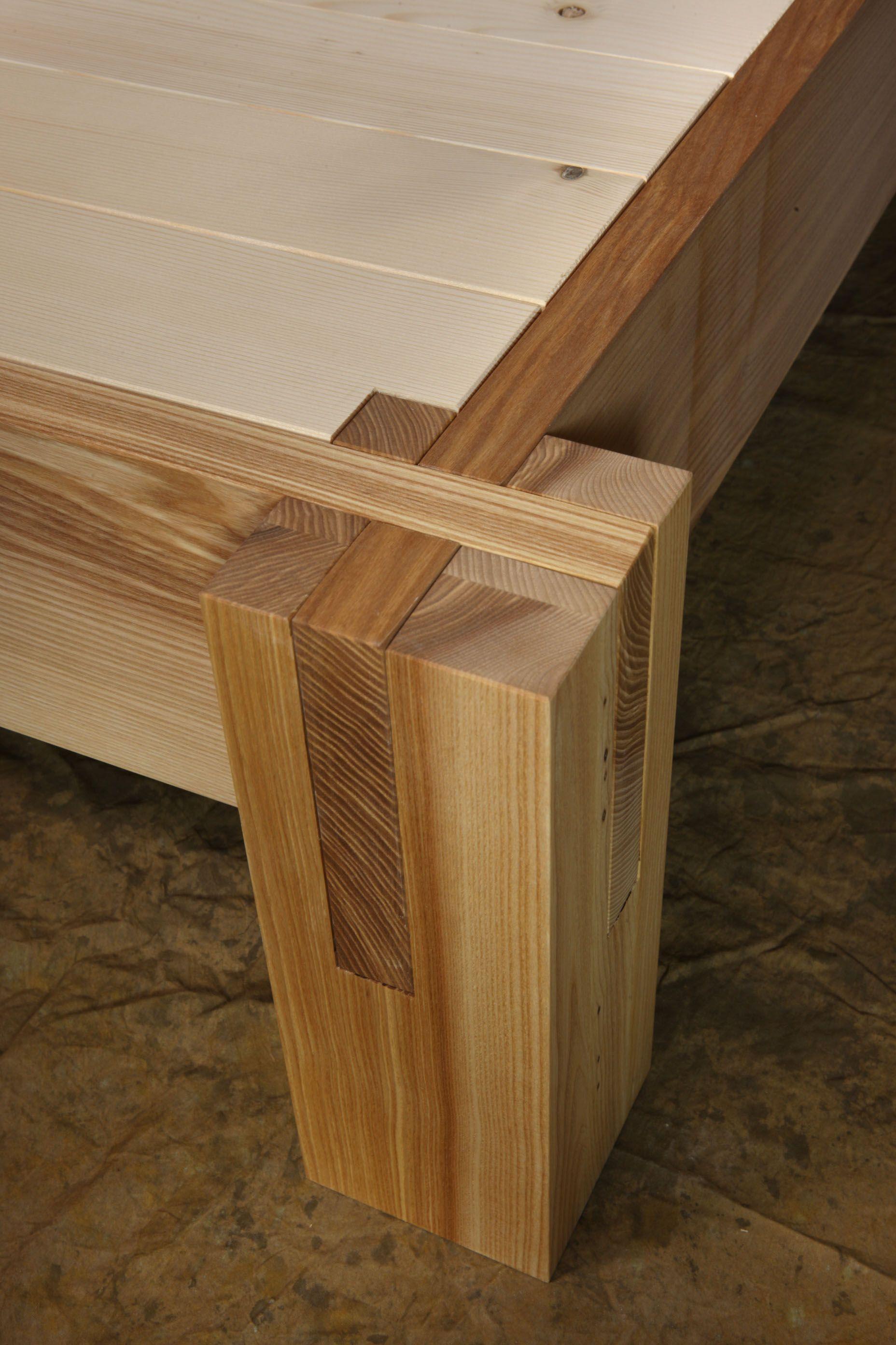 Letto Ecobrand in legno massello Bottega 130 by