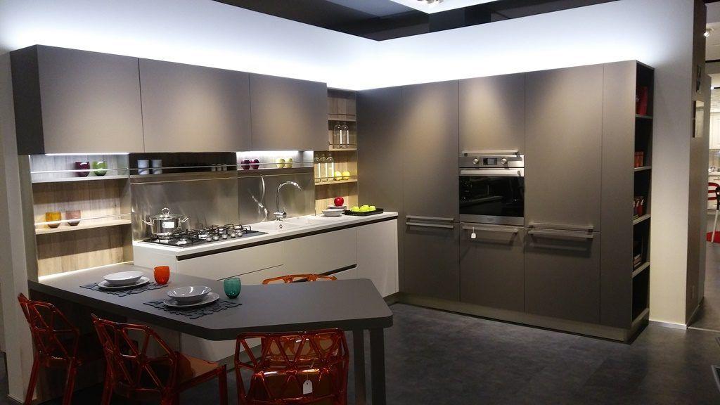 Opinioni Veneta Cucine Start Time.Cucina Angolare Con Bancone Cucine Cucina Dei Sogni Arredamento